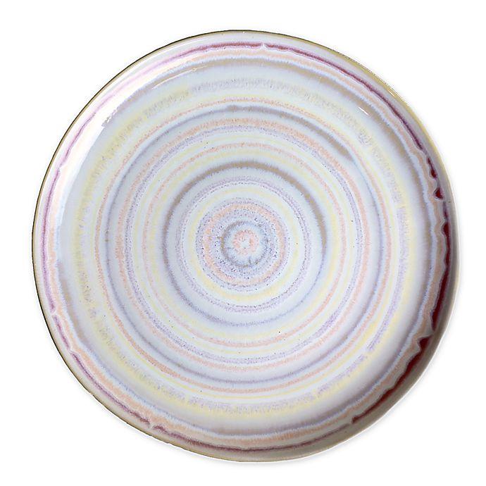 Alternate image 1 for Carmel Ceramica Carousel Dinner Plate in Pastel