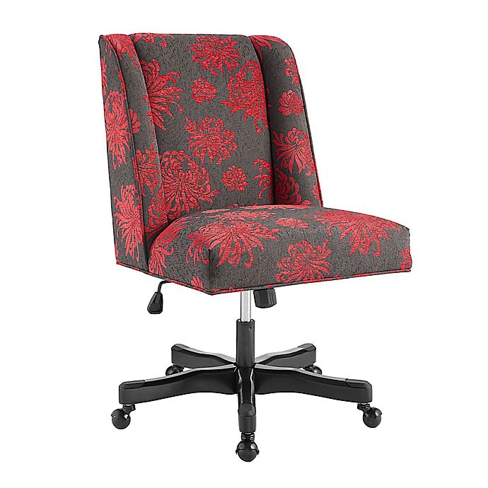 Alternate image 1 for Linon Home Draper Office Chair in Floral
