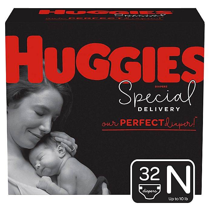 Alternate image 1 for Huggies® Special Delivery™ Newborn 32-Count Disposable Diapers