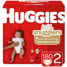Huggies® Little Snugglers® Size 2 180-Count Disposable Diapers