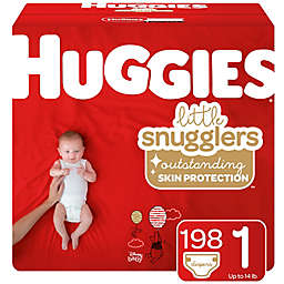 Huggies® Little Snugglers® Size 1 198-Count Disposable Diapers