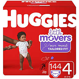 Huggies® Little Movers® Size 4 144-Count Disposable Diapers