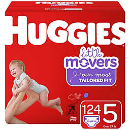 Huggies® Little Movers® Size 5 124-Count Disposable Diapers