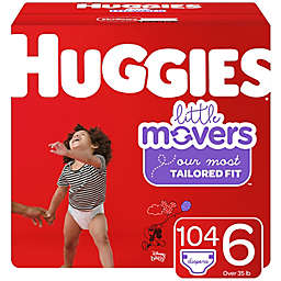 Huggies® Little Movers® Size 6 104-Count Disposable Diapers