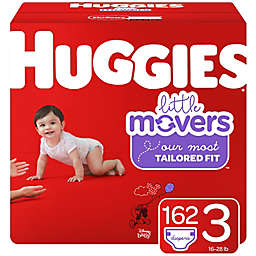 Huggies® Little Movers® Size 3 162-Count Disposable Diapers