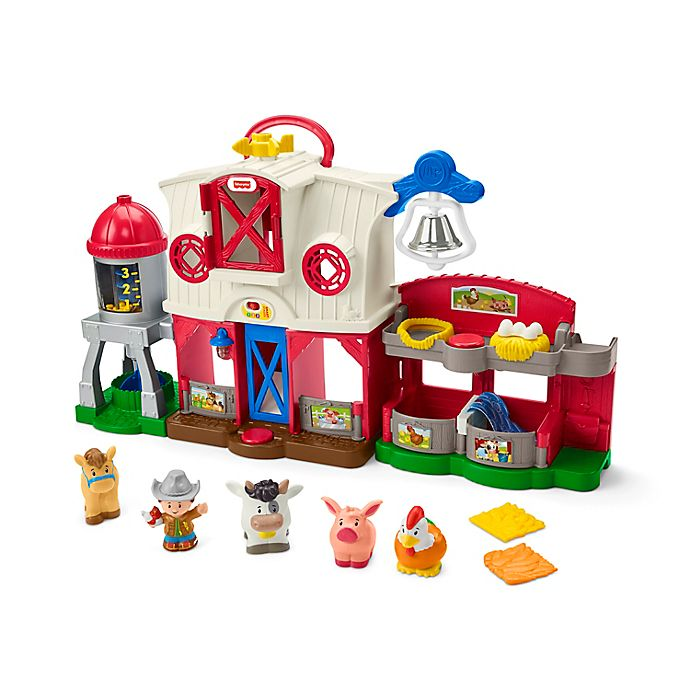Alternate image 1 for Fisher-Price® Little People® Caring for Animals Farm Playset
