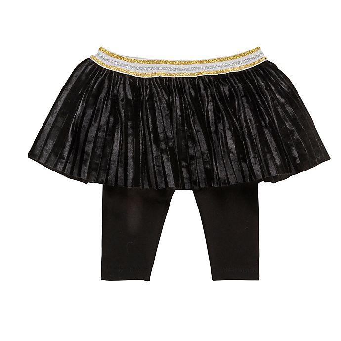 Alternate image 1 for Baby Starters® Newborn Tutu Leggings in Black