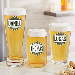 Five-Star Groomsmen Personalized Barware Collection