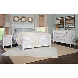 Beckley Bedroom Furniture Collection in Rustic White