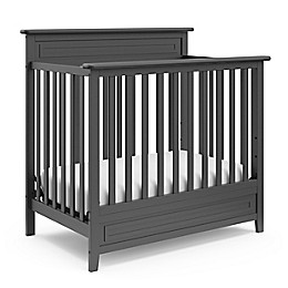Storkcraft Petal Mini 4-in-1 Crib with Mattress