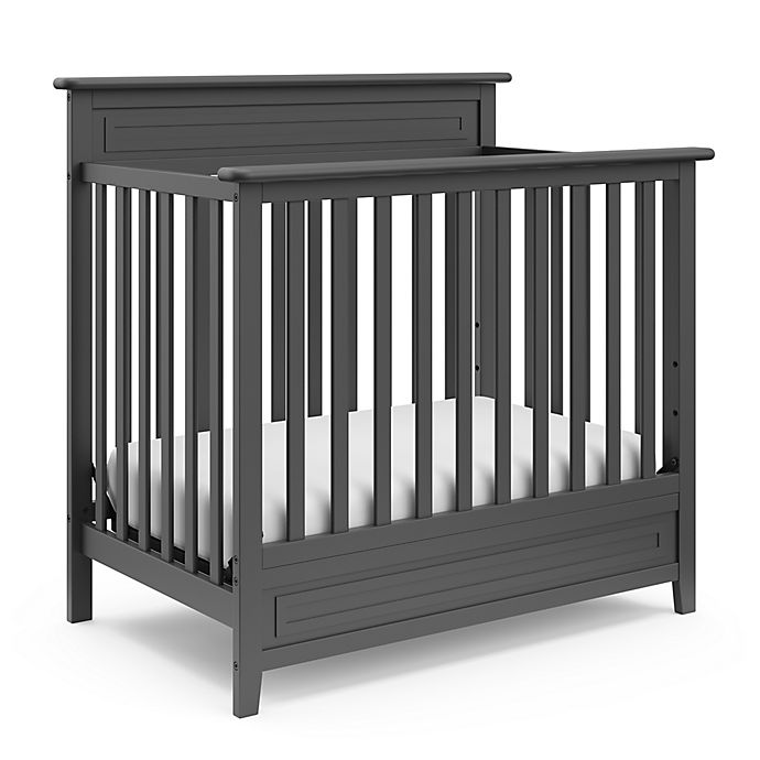 Alternate image 1 for Storkcraft Petal Mini 4-in-1 Crib with Mattress