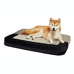 Precious Tails Restology Orthopedic Foam Convertible Sofa Pet Bed in Grey