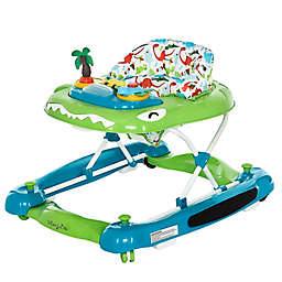 Dream On Me Baby Steps Activity Walker and Rocker in Blue/Green