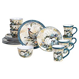 Certified International Harvest Gatherings Dinnerware Collection