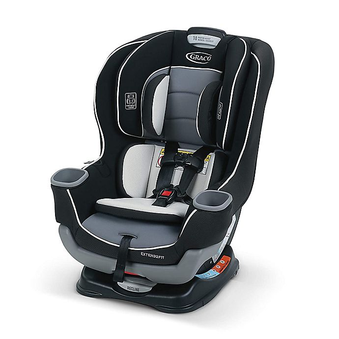 Alternate image 1 for Graco® Extend2Fit® Convertible Car Seat
