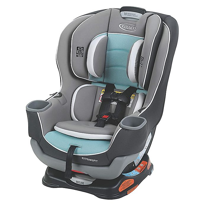 Alternate image 1 for Graco® Extend2Fit® Convertible Car Seat in Spire