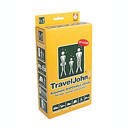 TravelJohn!™ Resealable Disposable Urinal (Set of 6)