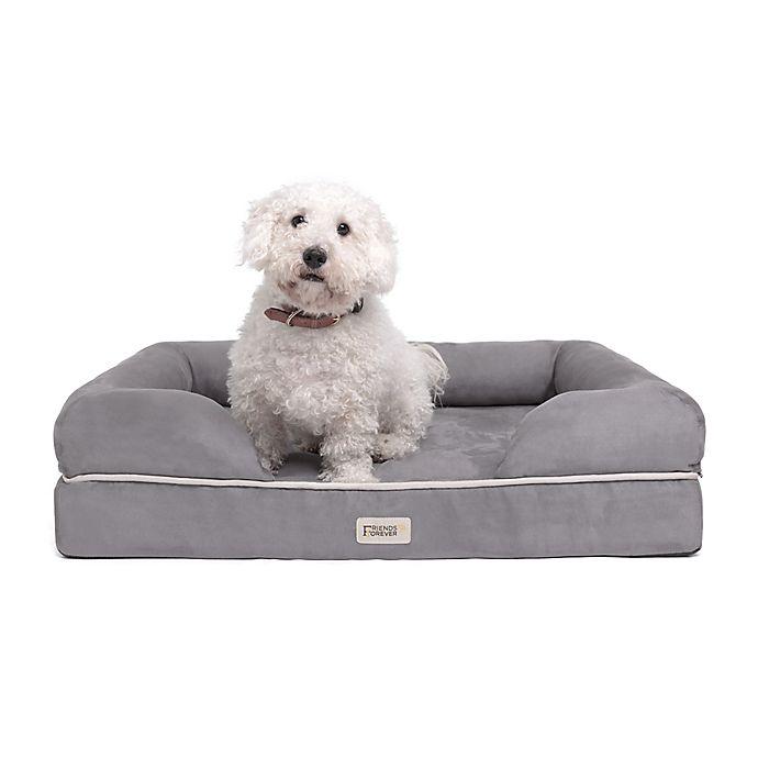 Alternate image 1 for Friends Forever™ Chester Orthopedic Memory Foam Dog Couch