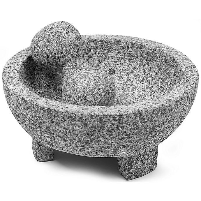 Alternate image 1 for IMUSA® Granite Molcajete Mortar and Pestle