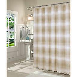 Dainty Home 70-Inch x 72-Inch Mirage Shower Curtain in Mocha