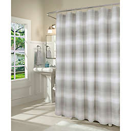 Dainty Home 70-Inch x 72-Inch Mirage Shower Curtain in Silver