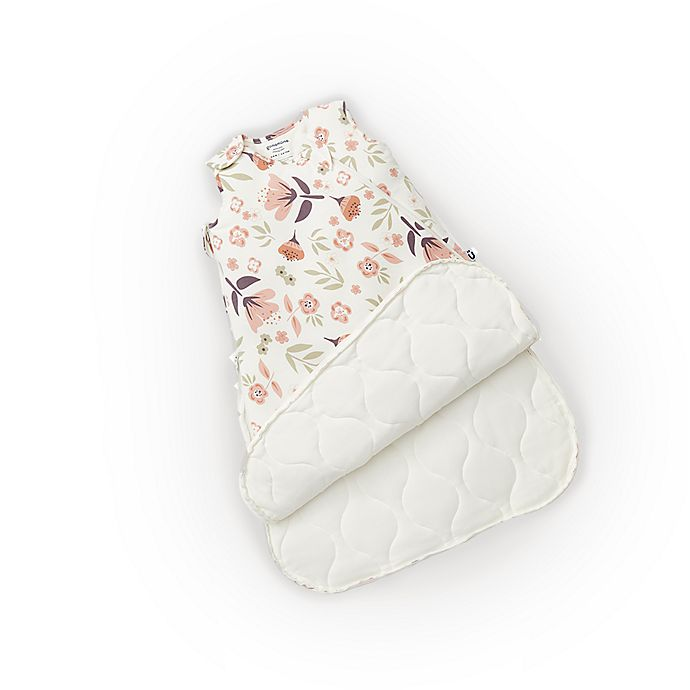 Alternate image 1 for Günamuna Size 9-18M Blooms 1.0 TOG Premium Sleep Bag in Ivory/Pink