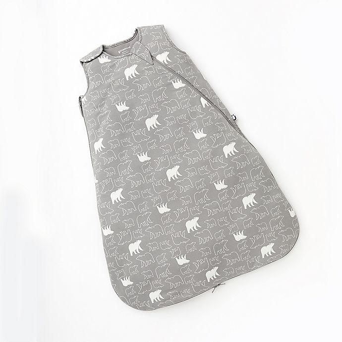 Alternate image 1 for Günamuna Size 9-18M Bear 1.0 TOG Premium Sleep Bag in Grey