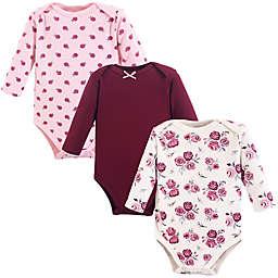 Hudson Baby® 3-Pack Long Sleeve Bodysuits