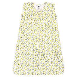 Hudson Baby® Size 6-12M Flower Wearable Blanket in Yellow