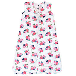 Hudson Baby® Size 0-6M Floral Wearable Blanket in Pink