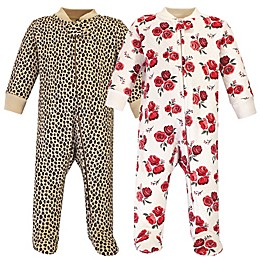 Hudson Baby® 2-Piece Quilted Footie Pajamas