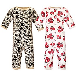 Hudson Baby® 2-Pack Quilted Long Sleeve Coveralls