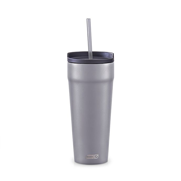 Alternate image 1 for DASH® 2-in-1 Spillproof 20 oz. Insulated Tumbler