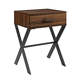 Forest Gate™ Rustic 1-Drawer Side Table