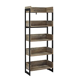 Forest Gate™ 5-Shelf Media Bookcase