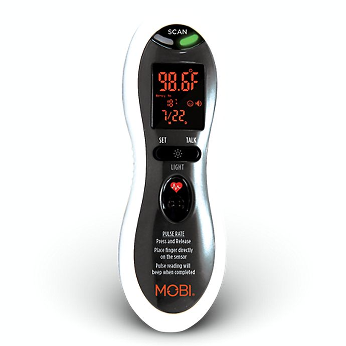 Alternate image 1 for MOBI DualScan® Ultra Pulse Ear & Forehead Thermometer
