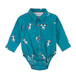 Sovereign Code™ Size 9-12M Dino Pillar Shirt in Green