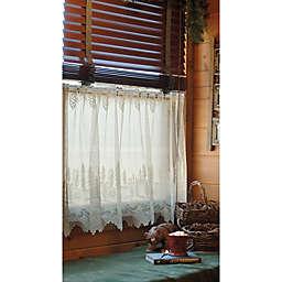 Pinecone Window Curtain Tier