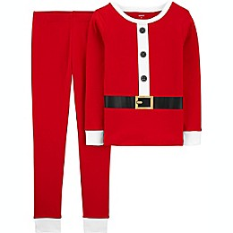 carter's® 2-Piece Santa Pajama Set in Red