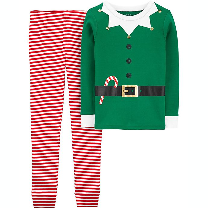 Alternate image 1 for carter's® Elf Pajama Collection