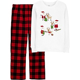 carter's® 2-Piece Buffalo Plaid Pajama Set