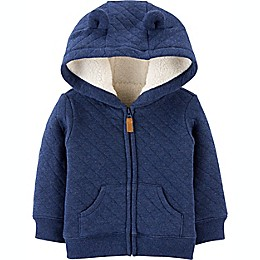 carter's® Hooded Sherpa-Lined Jacket in Navy