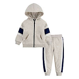 Nike® Air Size 24M 2-Piece Fleece Hoodie and Jogger Pant Set in Grey