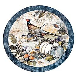 Certified International Harvest Gatherings Round Platter