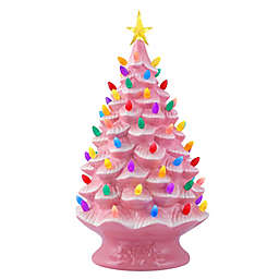 Mr. Christmas® 24-Inch Pre-Lit Nostalgic Christmas Tree Ornament