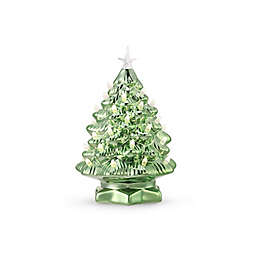 Mr. Christmas® Color-Morphing Nostalgic 12-Inch Ceramic Lit Christmas Tree in Green