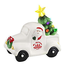 Mr. Christmas® Pre-Lit Vintage Ceramic Christmas Truck in Red