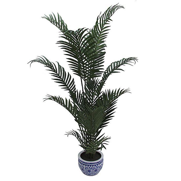 Alternate image 1 for W Home 60-Inch Areca Palm in Ceramic Pot