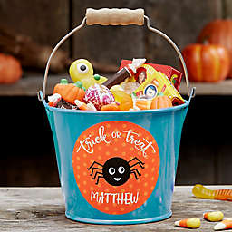 Halloween Character Personalized Halloween Treat Bucket