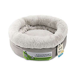 Bolster Round Pet Bed in Cobblestone